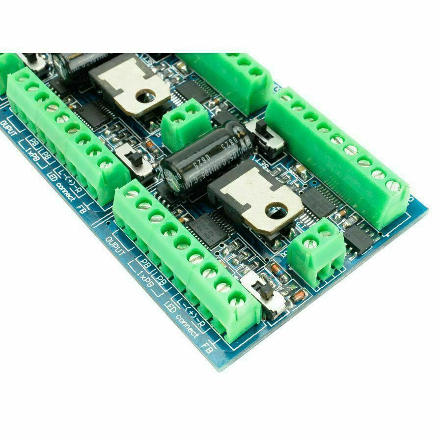 Accessory Decoders Available Through Coastal Dcc Wire Relaybased Indicator Circuit For Cdu Multiple Turnout Cobalt Ip Decoder Fx Stall Motor Drive 6 Way Output